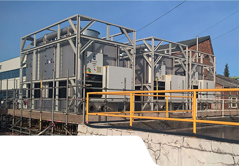 Process Cooling - 5,700kW Cooling Tower Hire - Midlands