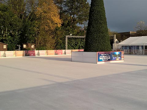 Temporary Ice Rink Chiller