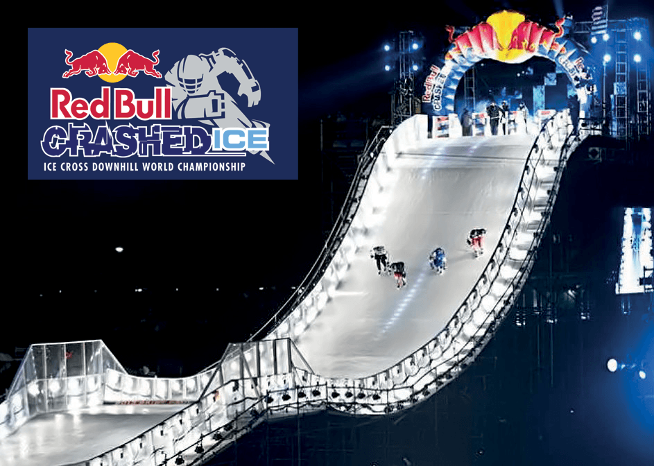 Carrier Rental Systems Ice Rink at Red Bull Crashed Ice