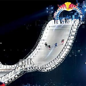 Carrier Rental Systems Delivers Cool Solution for Red Bull's Global Crashed Ice Event