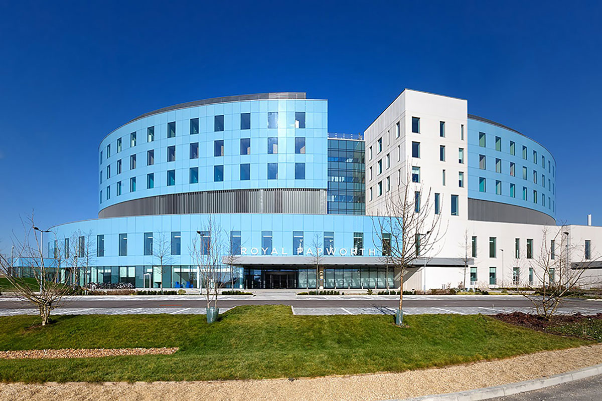 Royal Papworth is one of the world's leading cardiothoracic hospitals and the UK's main heart and lung transplant centre.