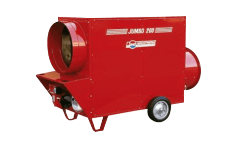 CRS 200kW 240V Indirect Diesel Fired Heater